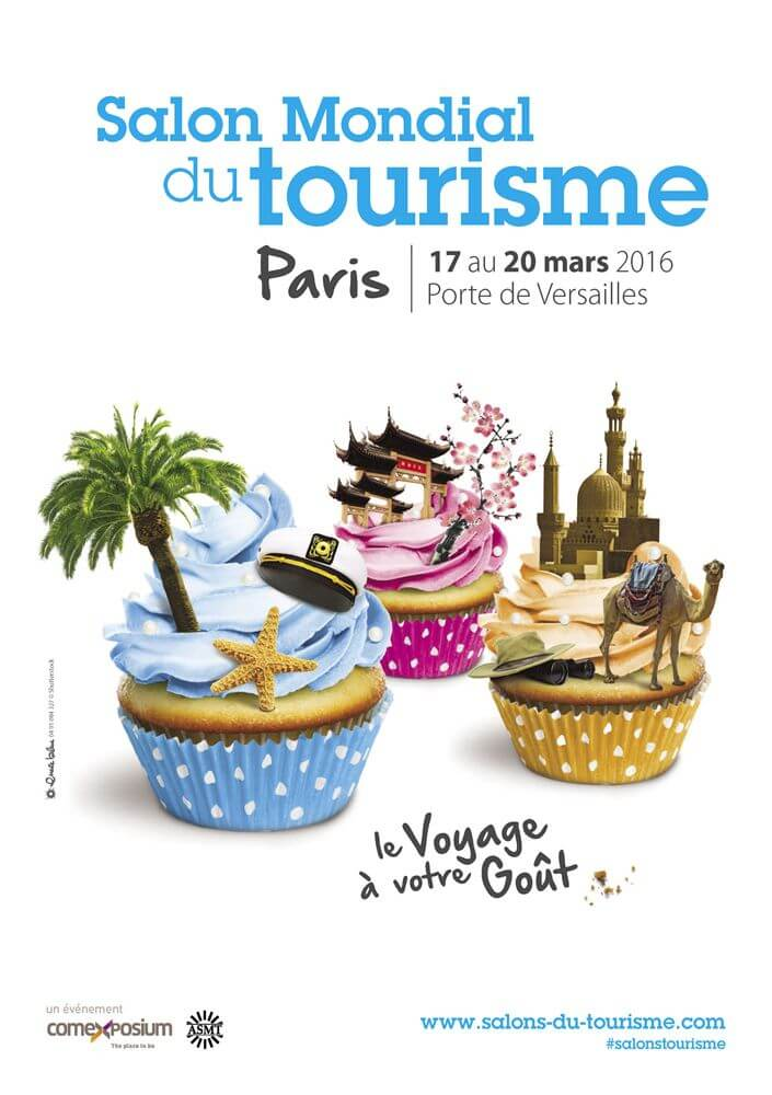 Salon tourisme paris 2016