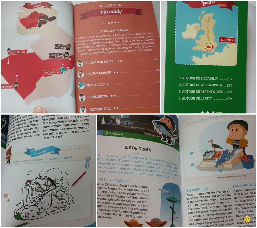 Les petits explorateurs Guide enfant michelin