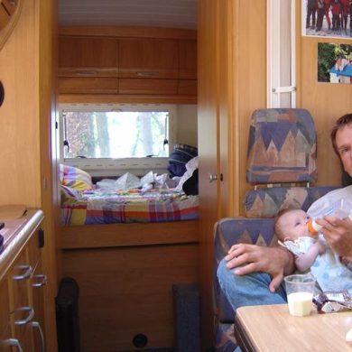 premier voyage bébé