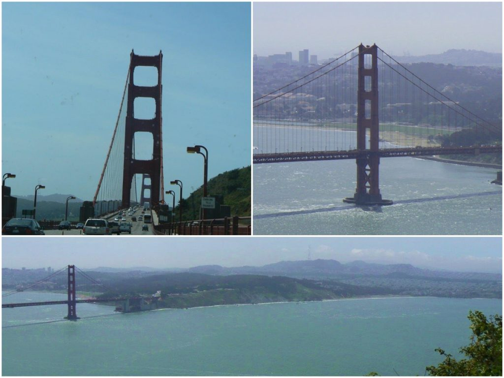 SanFrancisco Golden Bridge Voyage famille