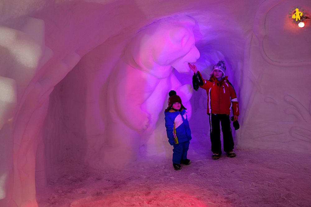 Pelvoux village animation enfant igloo pelvoo
