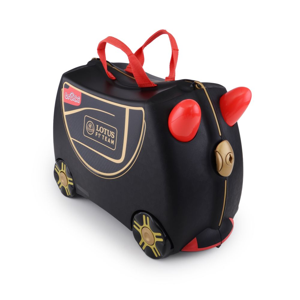 valise enfant trunki f1 lotus 2 voyages et enfants blog. Black Bedroom Furniture Sets. Home Design Ideas