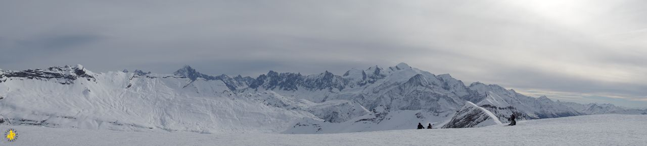 Panorama Mont Blanc Flaine Grand massif en famille