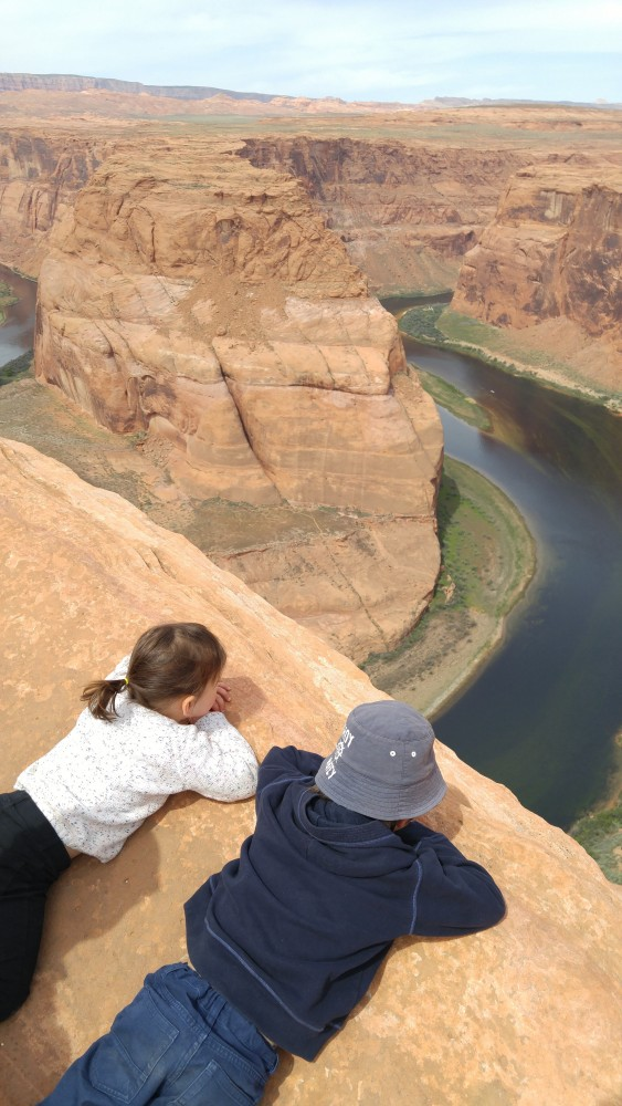 Horseshoe bend - Lac Powell