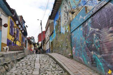 Rue de Bogoto - Candelaria en famille