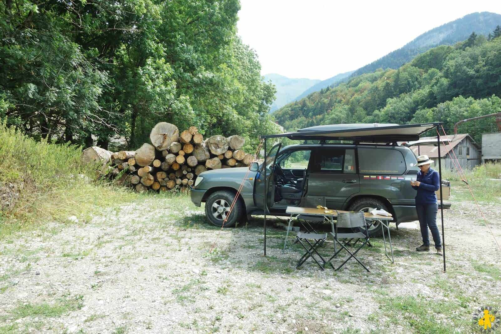 Pause pic-nic week-end Massif des Bauges